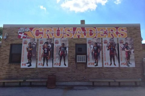 2014 Brother Rice Football Banners