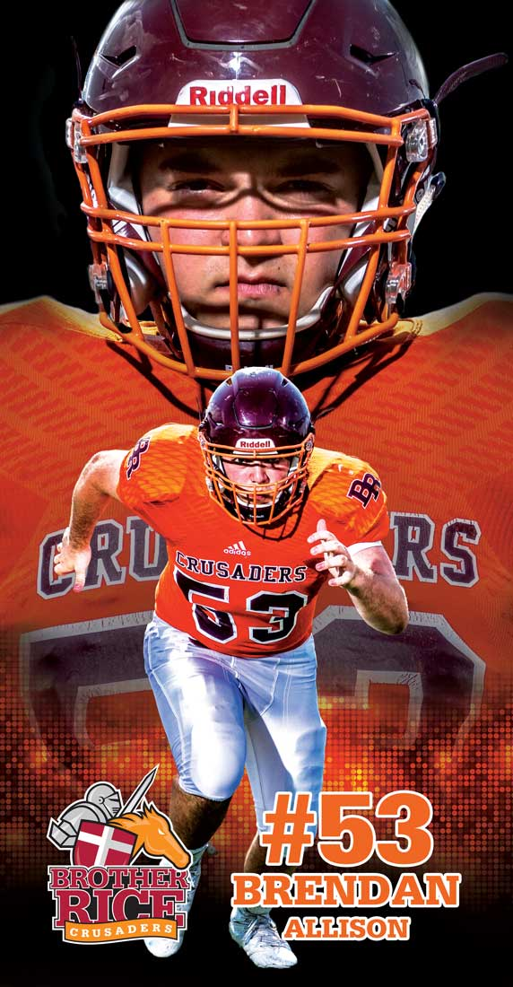 2016 Brother Rice Football Banner