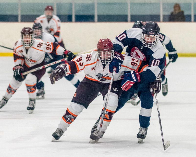 Brother Rice Varsity Hockey Images